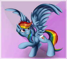 A picture of Dash by AC-whiteraven