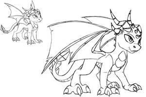 Improved Dragon Sketch