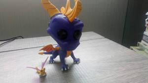 Spyro pop figure!