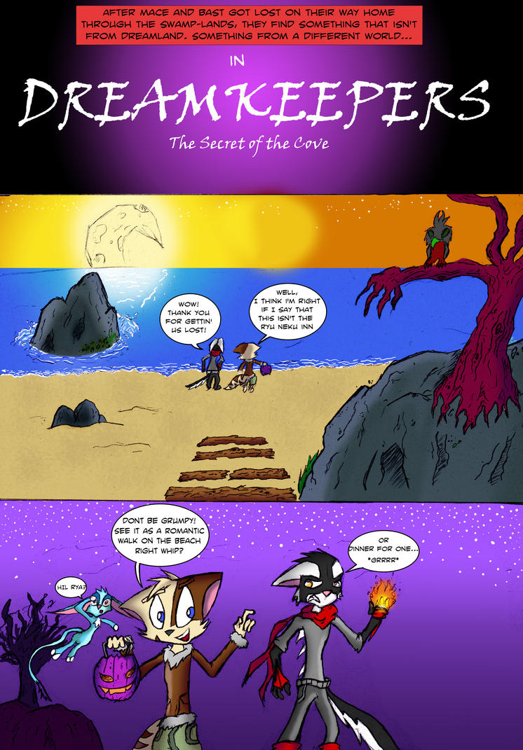 Secret of the Cove pg:1 by R-Star97