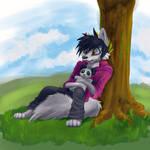 Duke and Panda