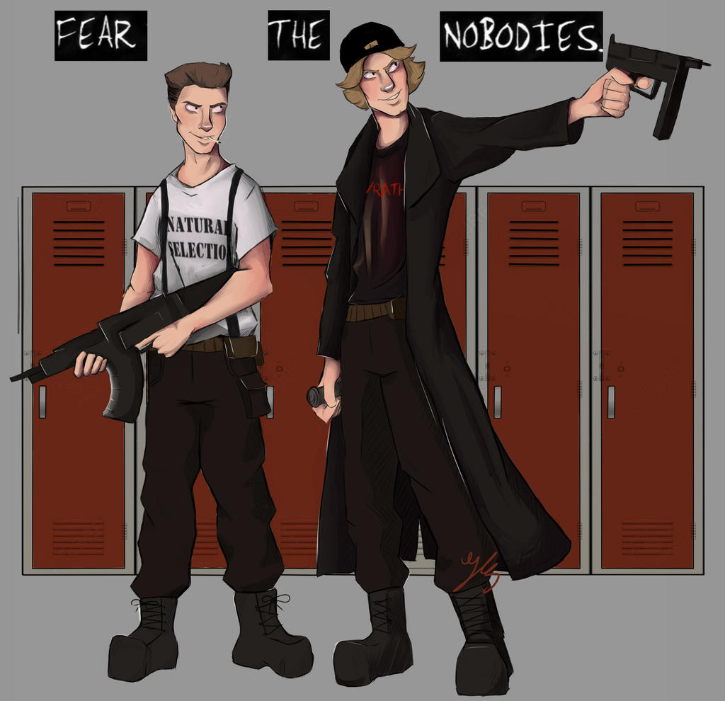 School Shooting Because Of Video Games: Fear The Nobodies By Heir0fSlytherin On DeviantArt