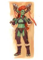 Warcraft Troll by wood-illustration