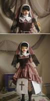 The wandering nun I by ASingleGiraffe