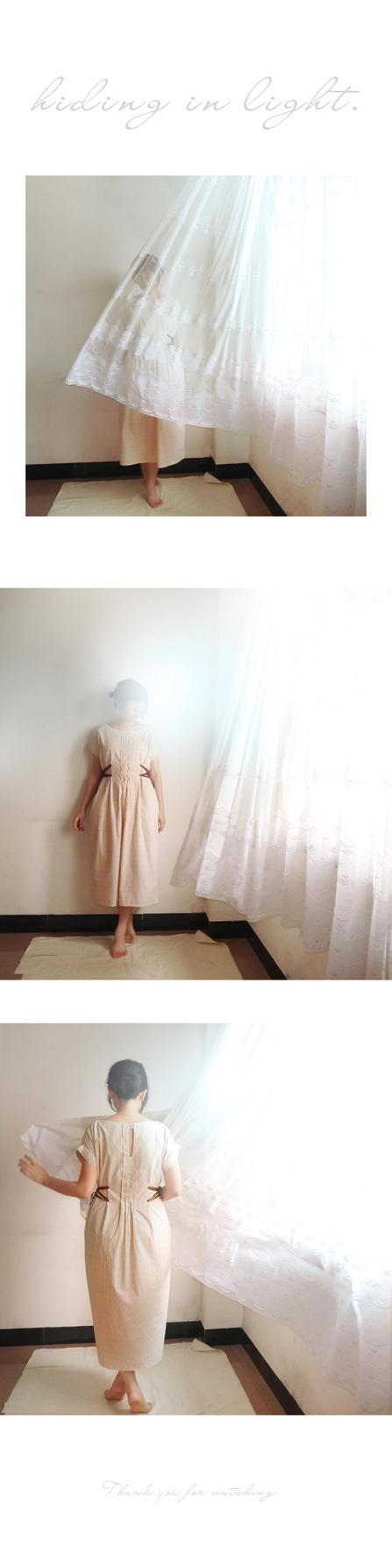 hiding in light. by ASingleGiraffe