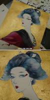 geisha by ASingleGiraffe