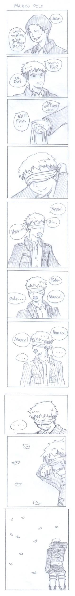 Shingeki no Kyojin Jean and Marco manga strip by beamkkkm on