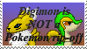 Digimon is Not a Rip-off stamp by StormerStatic