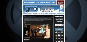 Geek Media Expo Vol. 5 Website by miluette