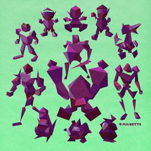 Fighting Polygon Team!