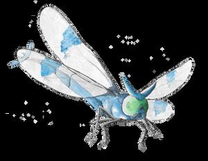Pokemon Community Collab - Yanma (Shiny)