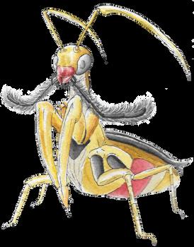 Pokemon Community Collab - Kricketune (Shiny)
