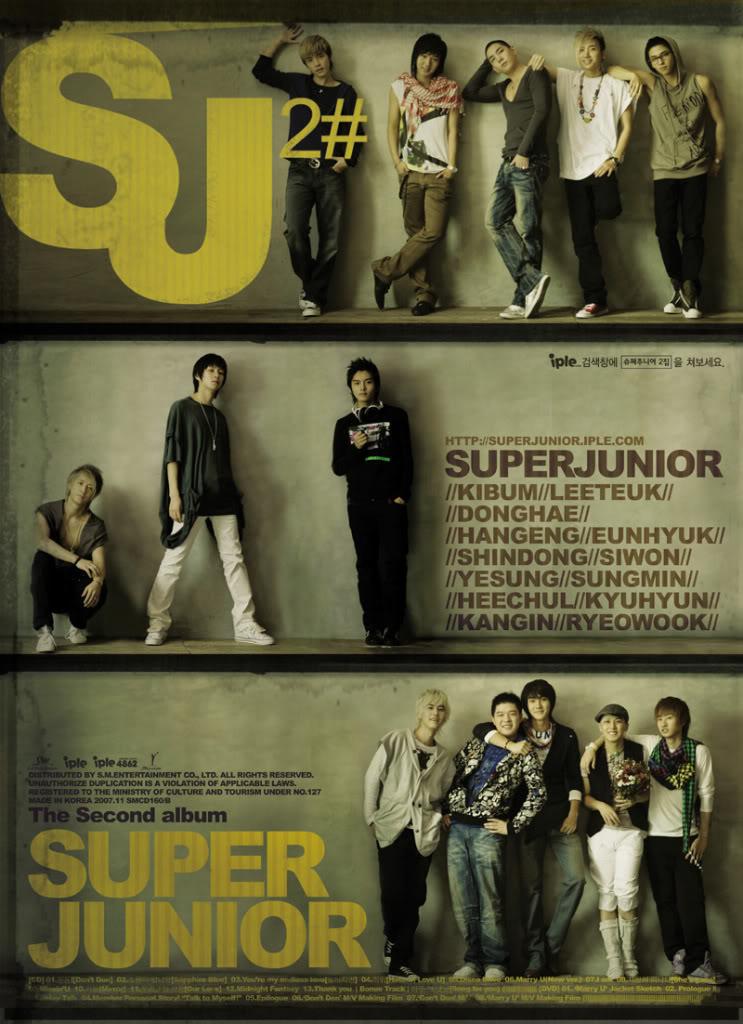 Super Junior 2nd Album by sashiharu