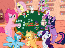 Poker Night by lawliet29