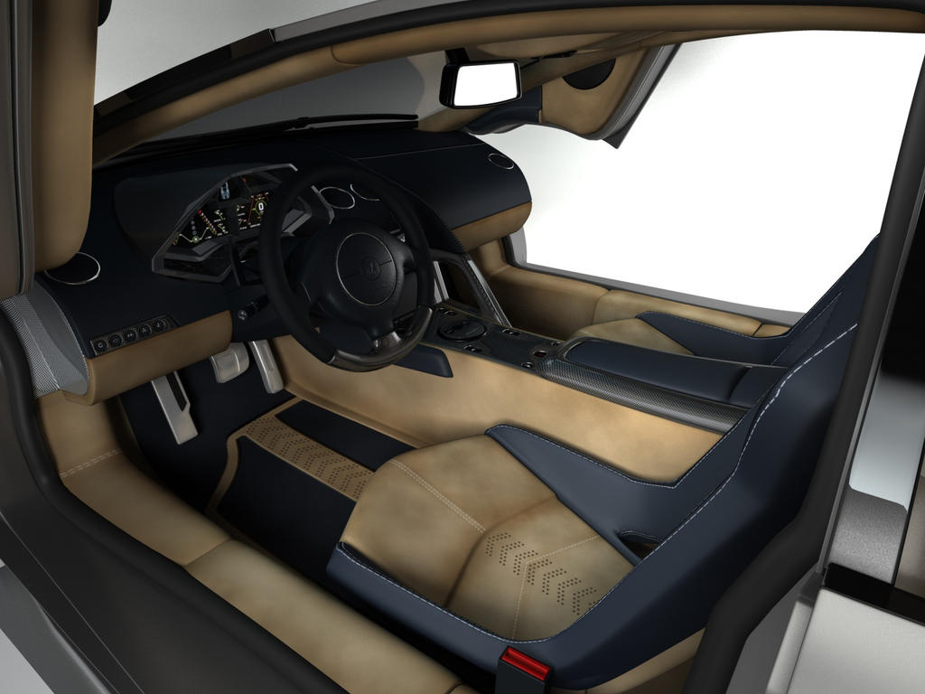 lamborghini reventon interior - photo #16