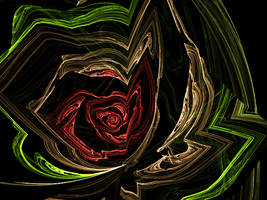 Driftwood Rose by BlueDisciple