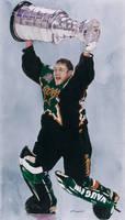 Ed Belfour - Dallas Stars Stanley Cup Champions