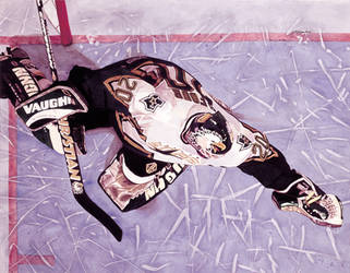 Ed Belfour - Dallas Stars - Grand Larceny by MSCampbell