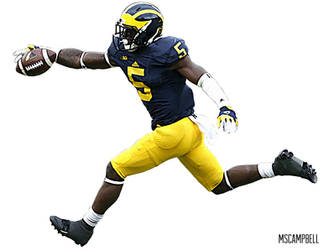 Jabrill Peppers - Michigan Football by MSCampbell