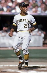 Roberto Clemente - Pittsburgh Pirates by MSCampbell