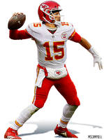 Patrick Mahomes - Kansas City Chiefs by MSCampbell