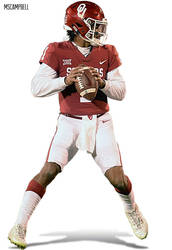 Kyler Murray - Oklahoma Sooners - Football by MSCampbell