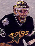 Andy Moog - Dallas Stars - Bear Mask - 1995 by MSCampbell