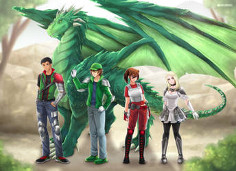RWBY - Warriors of Remnant: Team JADE by rsclaymore