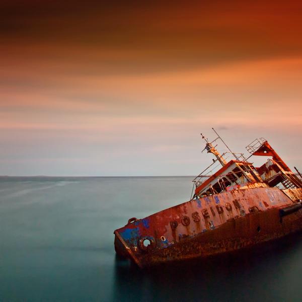 Fallen Poseidon by kpavlis