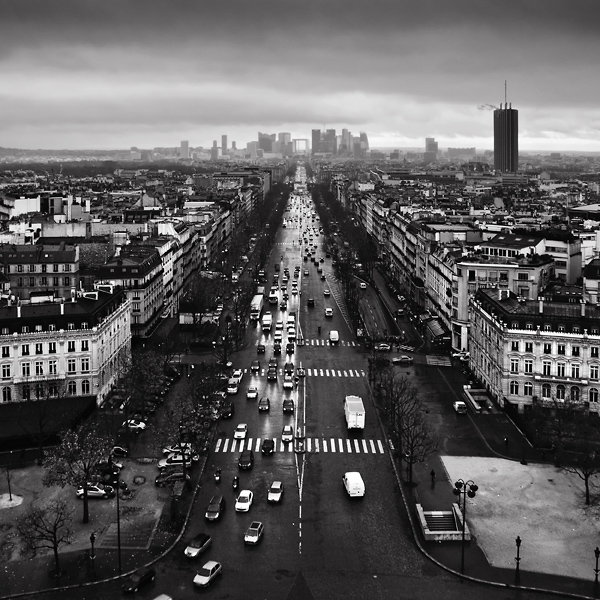 Paris cityscape by kpavlis