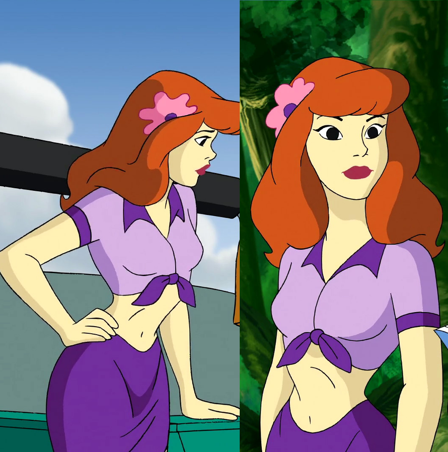 Aloha scooby doo daphnie belly by gussmee on deviantart - Scooby doo daphne ...
