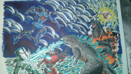 The moment we lost the Kaiju Apocalypse by Eddieprime666