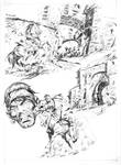 ESCAPE TO MADNESS pencils 02 by benitogallego