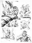 ESCAPE TO MADNESS pencils 04 by benitogallego