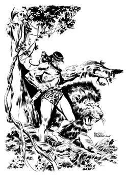 TARZAN AND LION
