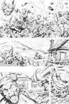 PEACE 3 - pencils by benitogallego