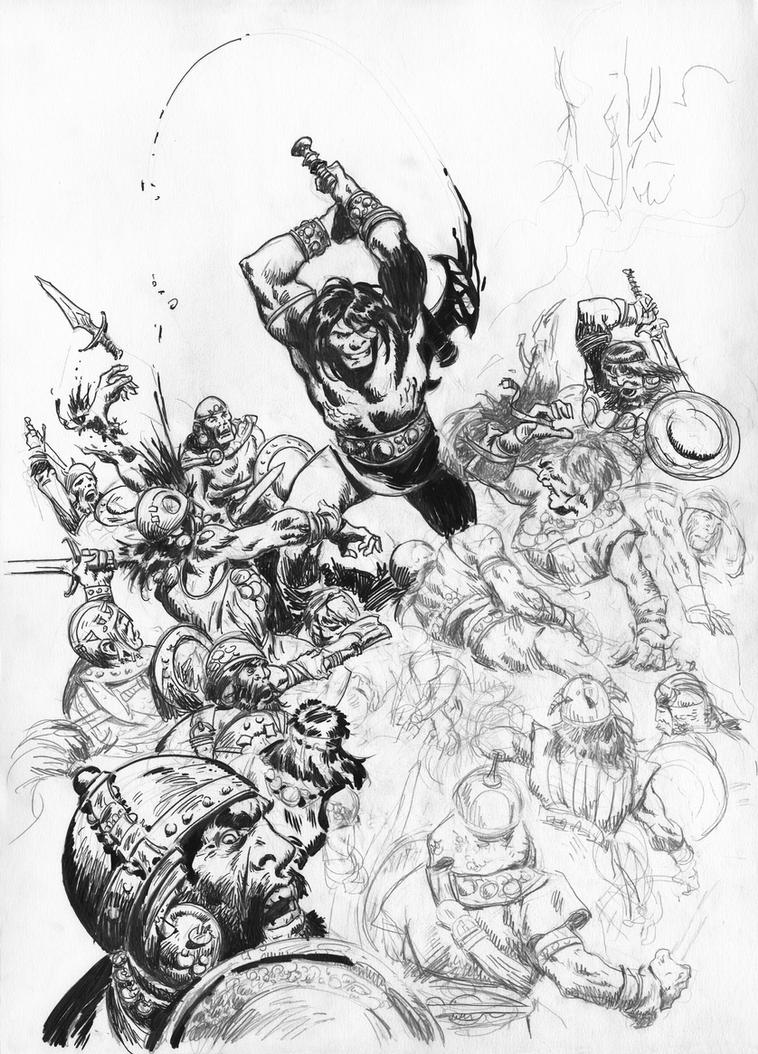 UNFINISHED CONAN by benitogallego