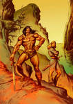 CONAN AND VALERIA-color 2nd