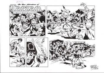 TARZAN#3762 ORIGINAL ART by benitogallego