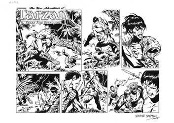 TARZAN#3772 ORIGINAL ART by benitogallego