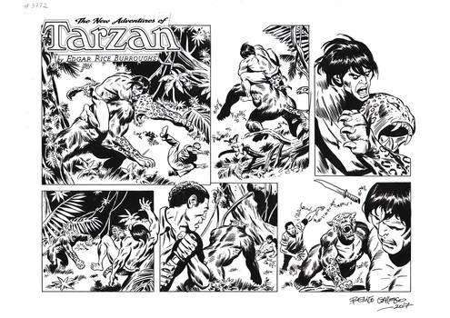 TARZAN#3772 ORIGINAL ART