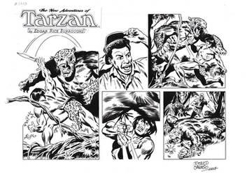 TARZAN#3773ORIGINAL ART by benitogallego