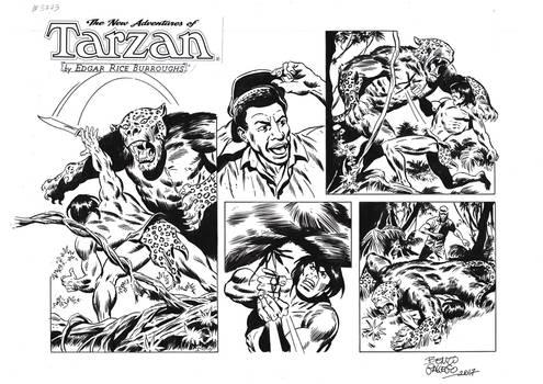 TARZAN#3773ORIGINAL ART