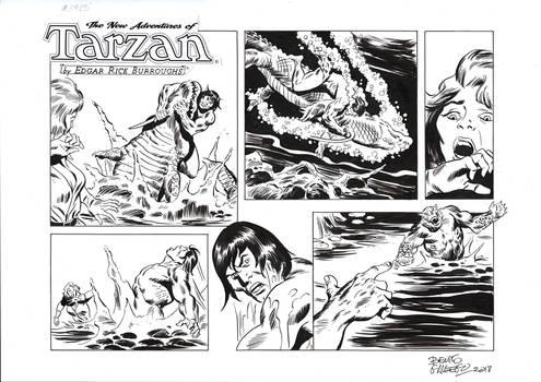 TARZAN#3785 ORIGINAL ART