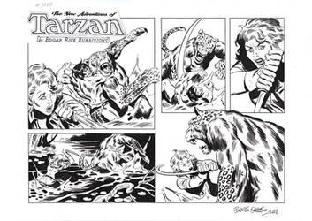 TARZAN#3787 ORIGINAL ART