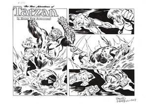 TARZAN#3788 ORIGINAL ART