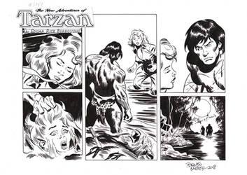 TARZAN#3789 ORIGINAL ART