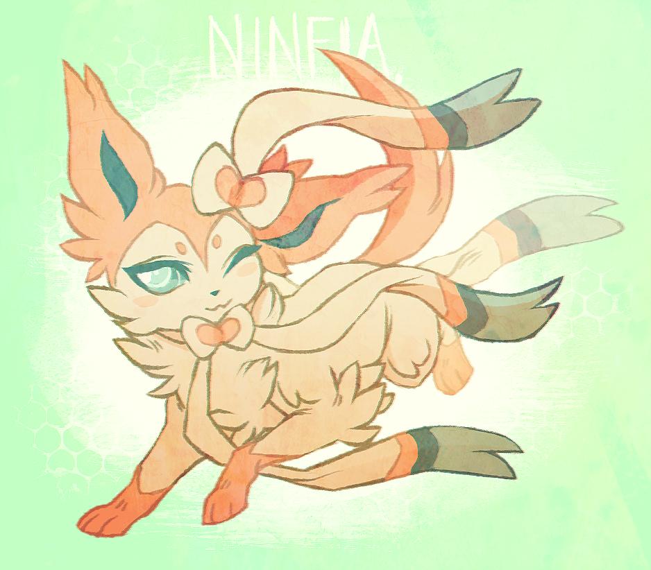 ninfia by crowvenchi