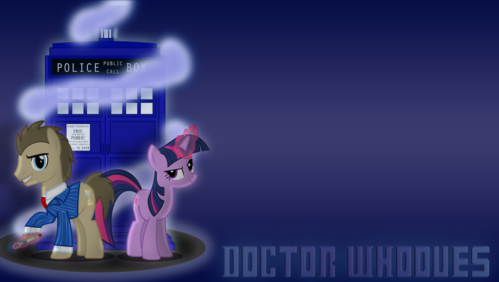 Doctor Whooves Adventures Wallpaper by RT18