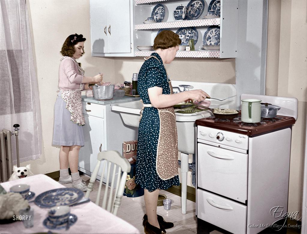 Modern Kitchen 1942 by BooBooGBs